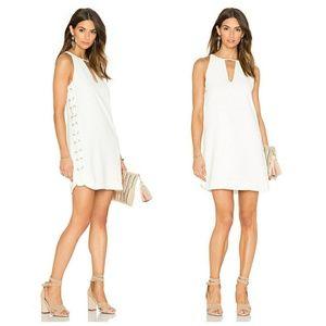 Parker Riviera white dress